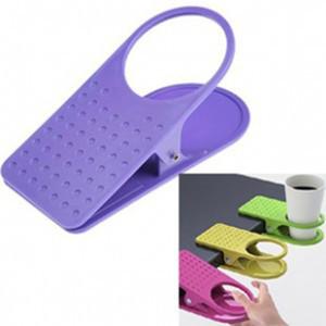 Tisch Glas Wasser Cups Clip Drinklip Becherhalter Glashalter-Becher Büro Glasvoll Glasklemm freies Verschiffen MY-9855