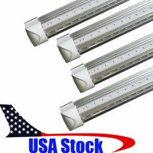 50X Brand New 2ft V Şeklinde T8 Led Tüpler 18W 600mm Cooler Işık Led Floresan Tüpler Lamba AC 110-240V 2ft