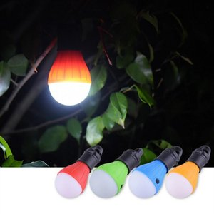 4 Colors LED Camping Lamp Emergency Lights Outdoor Tent Lamps Christmas Decoration Hanging Lights Portable Lanterns T2I51109