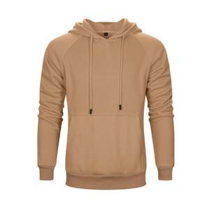 Nuevo otoño invierno de los hombres sudaderas ropa suéter chaqueta del chándal de la capa de deporte al aire libre de la isla camisetas encapuchadas tamaño de la piedra masculina S-XXL