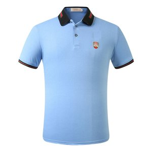 Mew2020 neue Herren Designer Polo lässig Medusa Shirt Baumwolle Herren T-Shirt T-Shirt Luxus Polo hochwertige lässige Baumwolle Polo