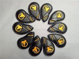 ХТ 10шт / Lot Golf Утюги Head Чехлы Кожа PU двойных бортах HonmaGolf Клубы Железный SetIron Набор хиджаб # 4-11AS Для женщин Человек
