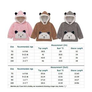 Emmababy Baby Girls Hoodies Sweatshirt For Kid Boys 2019 New Cartoon panda Cotton Full Fashion Sweatshirt Kids Children Clothing