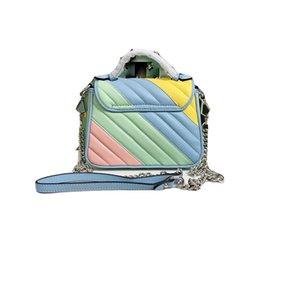 delle donne sacchetti di spalla Crossbody signore del cuoio della catena g lettera borsa Macaron della borsa sacchetto di colore designer borse Genuine