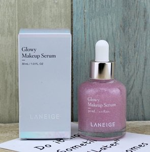 2019 New Laneige Glowy Makeup Serum Makeup Boosting Serum Moisturized with Healthy Glow 30ml DHL free shipping