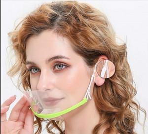 Mouth Spit Wache in Restaurant Hotel Maske transparenten Plastik Gesicht Gebraucht Maske für Koch Kellner / Kellnerin Bar Anti-Frost-Maske
