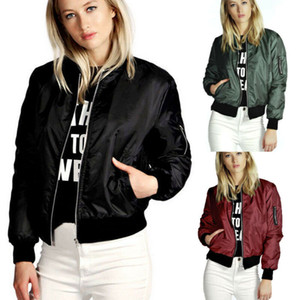 Women Frayed Bomber Jacket Appliques Print Where Is My Mind Lady Vintage Elegant Outwear Autumn Fashion Coat 2020