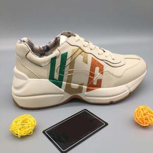 TOP-Qualidade sapatilha Casual Shoes Formadores Moda Sports Sapatos de couro de alta qualidade Botas Sandálias Vintage Air Para o homem Mulher por shoe008 051