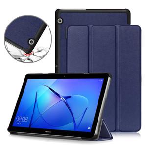 Tablets e-Books Magro Case for Huawei MediaPad T3 10, PU Couro Folding Suporte Capa para Huawei T3 10 caso