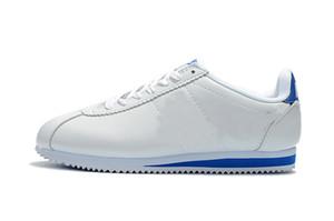 на открытом воздухе Кортес кроссовки Zapatillas HOMBRE Кортеса для мужчин и повседневная обувь женские белые кожаные мужские S 05