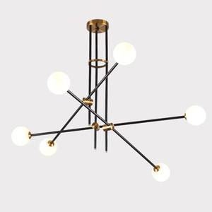 Moderne weiße Glas-LED-Rohr Metall Aufstellungsleuchter-Lampe hängende Beleuchtung Dekor PA0340