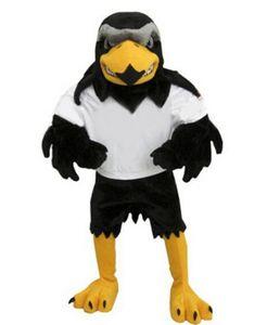 2019Deluxe traje de la mascota del halcón de felpa tamaño adulto águila Mascotte Mascota fiesta de carnaval Cosply traje traje de lujo traje