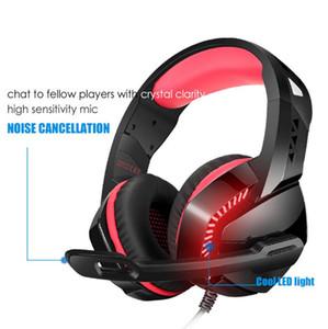Bas Kulaklık Gürültü Önleyici Kulaklık USB Stereo Surround Ses Gaming Headset Kulaklık İçin Bilgisayar Oyunu