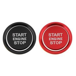 Audi A4 A5 için 2 Setleri Motor Start Stop Ateşleme düğmesi Kapak Trim Sticker