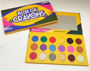 2020 BOX OF CRAYONS Eyeshadow iShadow Palette 18 Color Shimmer Matte Eyeshadow Palette Makeup Eye shadow