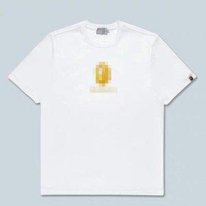 2020 Embroidery Ape Men Women Branded Shirts Summer Designered Mens T-shirt Short Sleeve Luxury Top Tees Hip Hop Mens Streetwear 2042801H