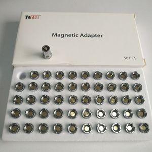 Authentic Yocan UNI Yocan Handy REGA WIT GROOTE Adaptadores conector magnético Rings Adapter magnética para Yocan Vape Mod Bateria