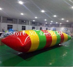Kostenloser Versand 7x3m Aufblasbare Wasser Blob, Blob Jump Wasserspielzeug, Wasser Blob Jumping Tasche, aufblasbare Hüpfkissen