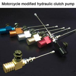 Motosiklet Hidrolik Debriyaj Ana Silindiri Çubuk Alüminyum Fren Pompası Araç Styling Modifiye