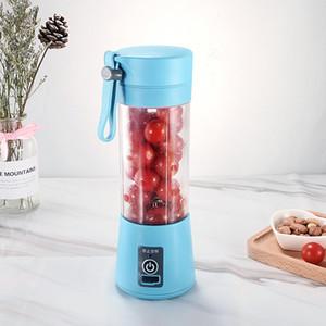 Portable Mini Charging Juice Cup Multifunctional Fruit Juicer Household Electric 2 Blade Juicer ju0463