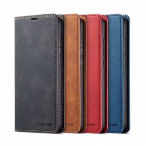 Luxe Magnetic Wallet Flip en cuir pour Xiaomi redmi Note 7 8 9 Pro Card slot Téléphone Cover