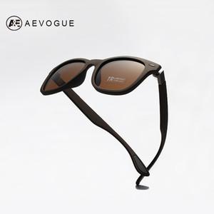 AEVOGUE Polarized Men's Sunglasses TR90 Unisex Style Polaroid Lens Rivet Original Design Masculino AE0615