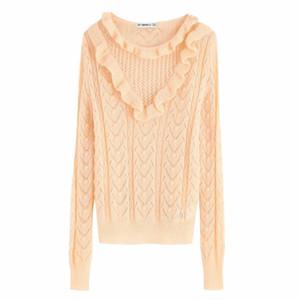Woah 2019 BB65-9674 европейские и американская мода Layered Декоративная Трикотажные рубашки