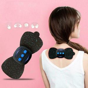 Hombro nuevo mini portátil eléctrico Massager del cuello cervical Masaje Alivio del dolor y estimulador Relajación masaje del cuello Patch Cuerpo
