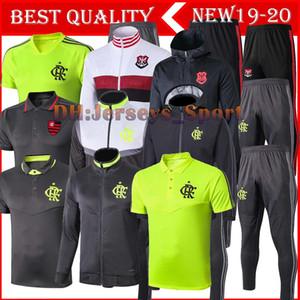2019 2020 Flamengo Eşofman Erkek 19 20 Flaman GUERRERO DIEGO VINICIUS JR Flamengo Eğitim Suit Giyim Spor futbol takımı formaları
