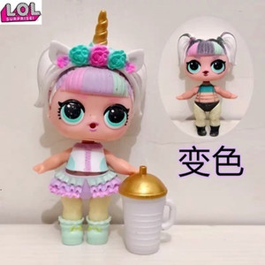 Original HOT LOL surprise O.M.G. Rare Style Unicorn doll Clothes shoes headdresses bottles 1 set accessories toys gift for grils