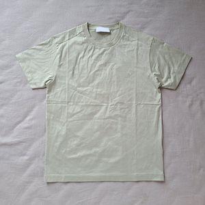 Европейский Стиль Твердые моды Цвет Короткие рукава высокого качества Удобные вскользь Tee мужчины и женщины Пара 8 Цвет футболки HFSSTX078