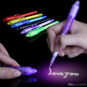 Осветить игрушки Luminous Волшебного пера Dark New Странной Популярной игрушку Волшебных Непоседы Pen для детей взрослого Brush