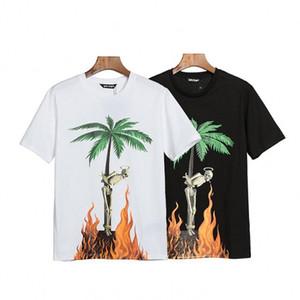 2020 новые мужские футболки рубашки печать Топ футболки для Италии Модные рубашки мужчин High Street хлопок теги Топы футболки