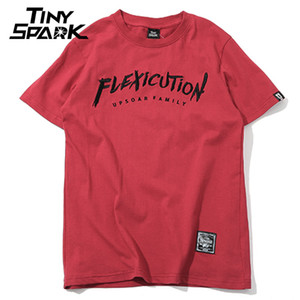 2020 T-shirt Hip Hop Flexicution Logic Rapper Hiphop T-shirt ricamo Harajuku maglietta del cotone supera i T Streetwear Estate