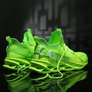 Vente chaude Mode Hommes Chaussures Mesh respirant Chaussures Homme Chaussures marche Nouveau léger et confortable Chaussures de course a-200228056