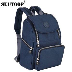 SUUTOOP мода Мумия материнства мешок многофункциональный женщины рюкзак подгузник сумки дизайнер рюкзаки для медсестер по уходу за ребенком