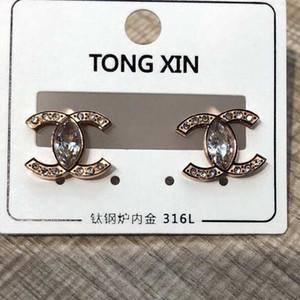 Классический стиль розовое золото большой размер воды дрель серьги титан сталь леопардовый принт кольцо кулон серьги Серьги для женщин подарки