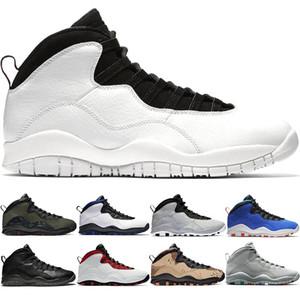 Top 10 Uomini Scarpe da Basket 10s Desert Camo Cement Woodland Camo Orlando Tinker Mens Trainer Sport Sneakers Taglia 41-47 Drop Shipping