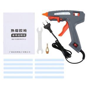HS12110 100W Profesyonel Tutkal Tabancası Isı Guns DIY İşi Oyuncak Tamir Araçları Elektrikli Isı Sıcaklık Tutkal Guns için