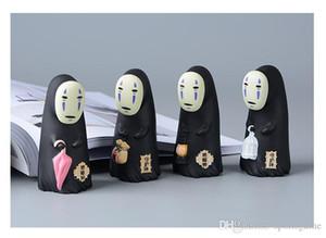 Studio Ghibli Spirited Away No Face Man Vinyl Action Figure Miyazaki Hayao Anime Kaonashi Model 8cm Decoration Doll Kids Toys