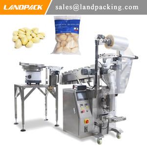Sarımsak Dolum Ve Paketleme Makinesi Eşleştirme Titreşim Sayma Cihazı Sebze Dikey Form Mühür Makinesi Fiyat Doldurun