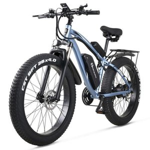 La nueva bici eléctrica 48V1000W E-bici eléctrica bicicleta de montaña de neumáticos 4.0 de grasa bicicleta eléctrica