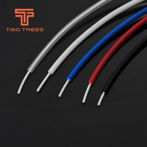 Cheap 3D Printer Parts & Accessories 1M PTFE Tube Teflonto TL-Feeder hotend Rostock Bowden Extruder 1.75 Filament ID 2mm OD 4mm Cloned