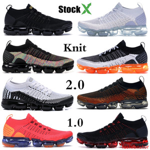 Black Multi Color Knit 2.0 Running Shoes Be True Mens Womens Zebra Tiger Black Hot Punch BHM Fashion Luxury Designe Shoes