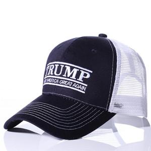 Trump 2020 sombreros de béisbol EE.UU. Bandera casquillos de la manera Cap Donald Trump que Estados Unidos sea grande otra vez Casquillo de la bola del bordado Sombreros
