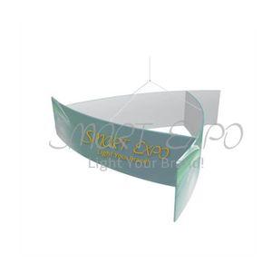 14 pies (Cl) * 5 pies (H) del molinillo de viento de la forma colgante Custom Cloth grande decorativo Banner con una fuerte estructura de aluminio Tubing