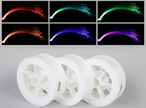 Free shipping 1 Roll 0.75mm 2700M End glow High quality end glow PMMA plastic fiber optic cablel for decorate express