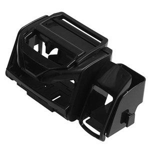 1pc 12 * 12 * 6cm Universal Car Air Vent Outlet Cup Boisson Bouteille Can Support à montage en rack Noir