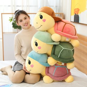 plush toy hat turtle doll cute big pillow sleeping girl doll gift male