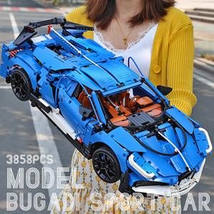 YX Bugatti Veyron Araba Yapı Taşı Modeli, DIY Gelişim Oyuncak, Büyük Boyut Yüksek Simülasyon, Kid 'Doğum Günü Partisi Noel Hediyesi, Toplama